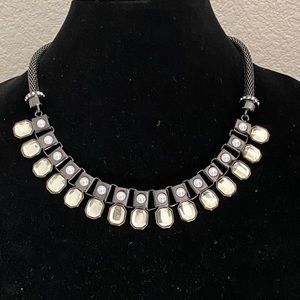Lia Sophia Necklace with glass crystals